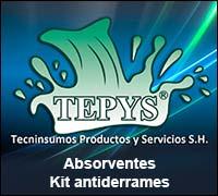 Absorventes Antiderrames Tepys